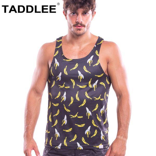 Taddlee Brand Sexy Men Tank Top Tee Shirts Sleeveless Undershirts Gym Sports Run T Shirts Outdoor Basketball Stringer Singlets
