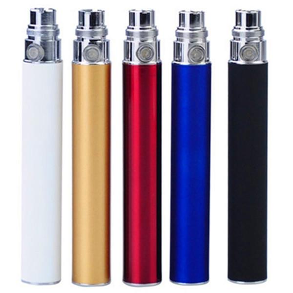 E Cigarette eGo-T Battery Ego Batteries for 510 Thread Vaporizer mt3 CE4 CE5 CE6 atomizer 650 900 1100mah OEM Available