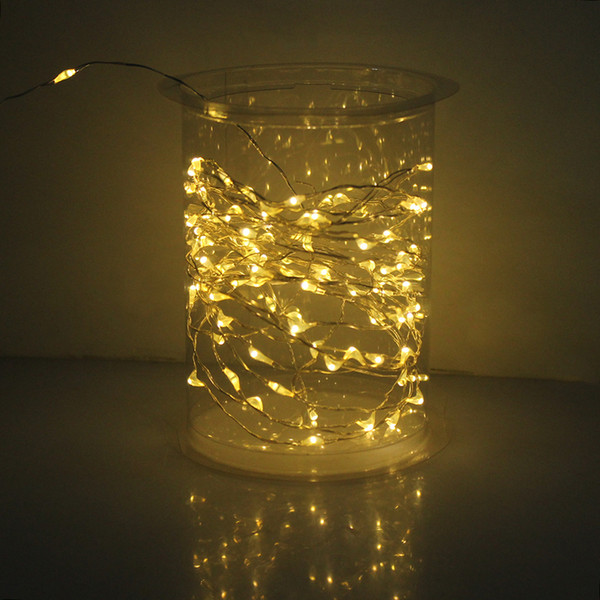 Cross border supply new products solar lamp series LED copper string Christmas light string 10 meters 100 lamp