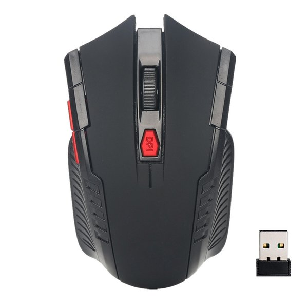 Wireless Mouse 6 Buttons 1600DPI 2.4G Optical Energy Saving Mice Wireless For PC Laptop