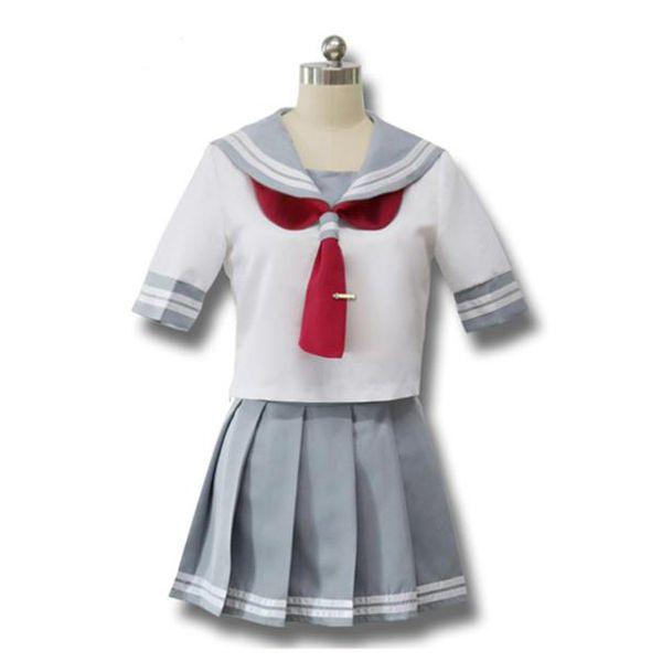 Japanische Anime Love Live Sunshine Cosplay Takami Chika Mädchen Sailor Uniformen Love Live Aqours Schuluniformen