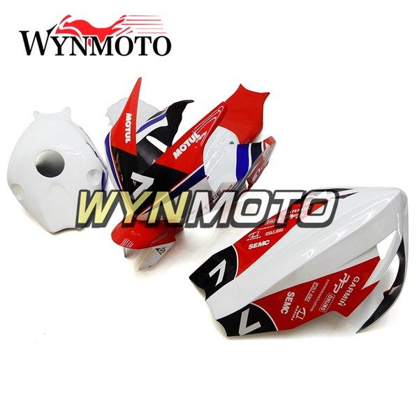 Fiberglass Racing Fairings For Honda CBR1000RR 2012 - 2015 Year CBR1000 RR 12 13 14 15 Injection Plastic Body Kit Fittings White Red