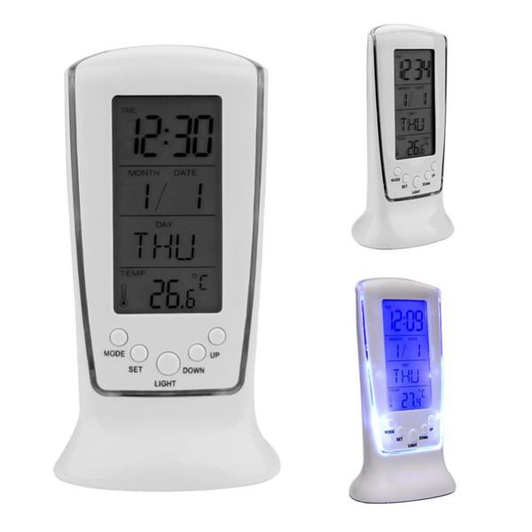 Clocks Led Digital Clock Despertador Desk Clock Bedside Alarm Electronic Watch Square Gift For Kids