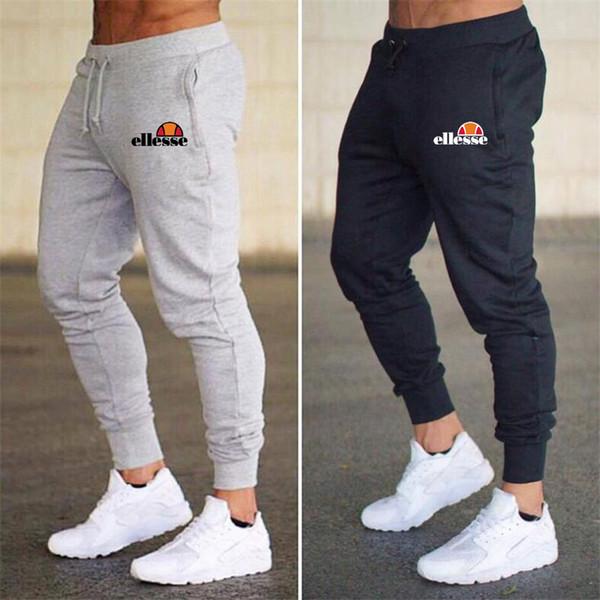 2018 Marca Masculino Calças Sweatpants Homens de Lazer Dos Homens de Fitness Musculação Calças Casuais Homme Outwear Fitness Corredores