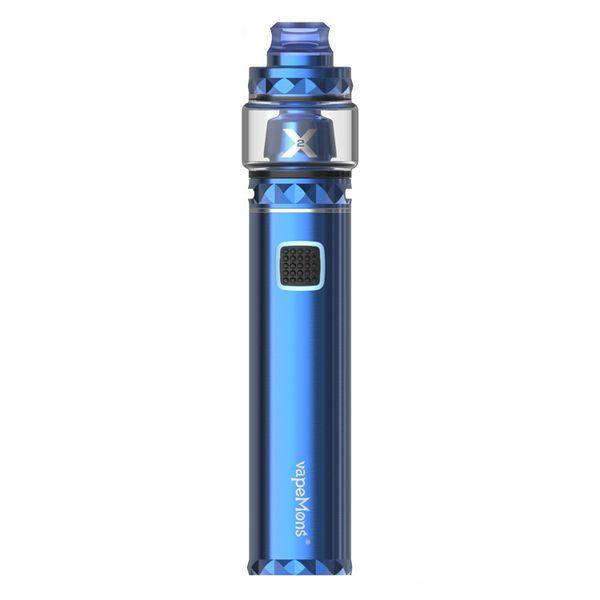 Authentic Vapemons X2 Starter Kits 3000mAh 18650 battery electronic cigarette for 6.5ml atomizer vape cartridges free shipping