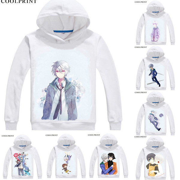 COOLPRINT Future Diary Mirai Nikki Hoodies Hooded Hoodie Japanese Anime Akise Aru Paradox Observer by Deus Ex Machina Cosplay Sweatshirts