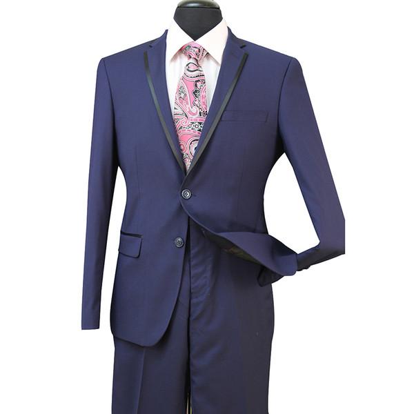 Slim Fit novio esmoquin padrinos de boda gris claro lado ventilación boda mejor traje de hombre trajes de hombre 3 piezas (chaqueta + chaleco + pantalones) ST008