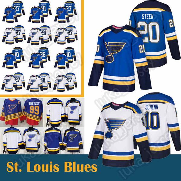 91 Vladimir Tarasenko 27 Alex Pietrangelo, 10 Brayden Schenn St. Louis Blues, 20 Alexander Steen, 26 Paul Stastny Hokeyi Formaları