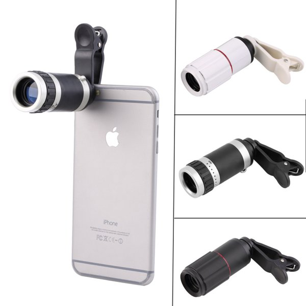 niversal 8-18x Zoom Optical Mobile Phone Telescope Telephoto Camera Len+Clip Promotion 10