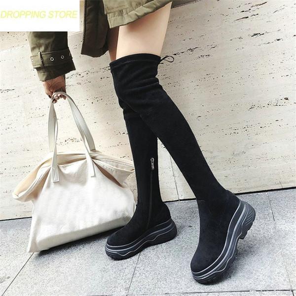 2 PAAR = 1 x Overknee Stiefel 1 x Leder Pumps + Gr. 36 + von