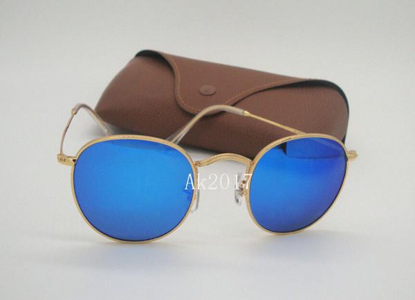Gold-blau-Spiegel
