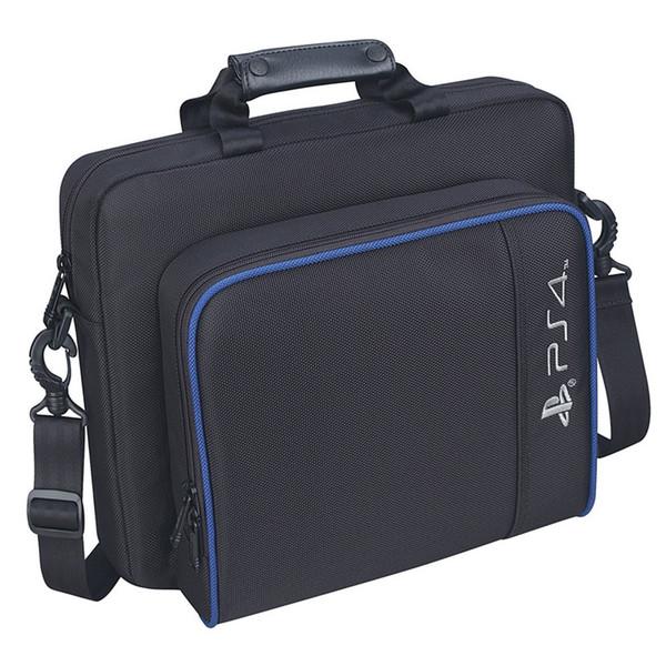 PS4 Slim Game Sytem Bag Canvas Case Protect Shoulder Carry Bag Handbag Original size for PlayStation 4 PS4 Pro Console