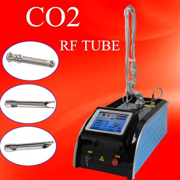 Laser de fração de CO2 tubo RF máquina de tratamento de remoção de Cicatriz para rugas rejuvenescimento da pele acne remoção e aperto vaginal