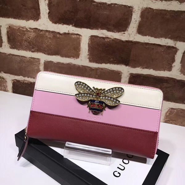 huweifeng4 дизайн качество знаменитости топ письмо Жемчужина Алмаз бабочка насекомое длинный кошелек молния кошелек воловьей кожи 476069 сцепления