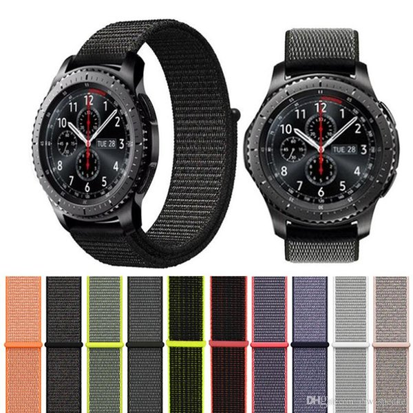Hot Sale Sport Woven Nylon Loop Strap for Samsung Gear S3 Band Samsung Wrist Braclet Belt Fabric Nylon Band Also Sale Apple Watch Nylon Too