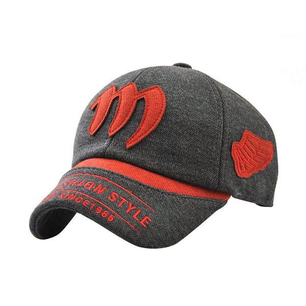 d8adee643e7 JAMONT Sun Gorras Adjustable Boys Fashion Baseball Cap With Wing Children  Hat 2018 Autumn Winter Kids Ear Warm Baseball Caps