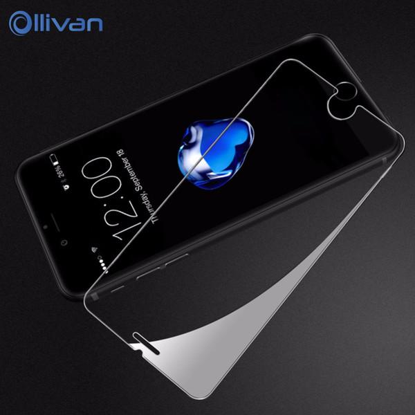 10pcs/lot Wholesale Tempered Glass Film for Apple iPhone 5s 5 se 6 6s 7 8 Plus 9H HD Screen Protector Guard Pelicula de vidro
