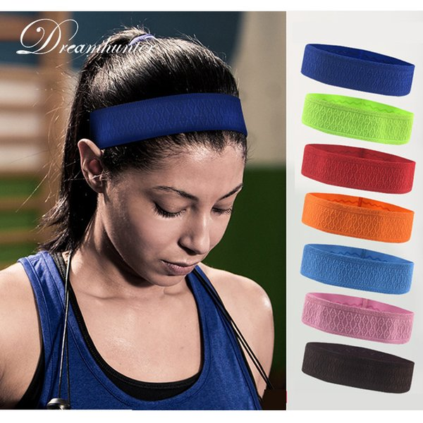 High Elastic Sports Sweat Headband For Women Men Jogging Cycling Tennis Running Hair Bands Anti-Slip Head Bands Yoga