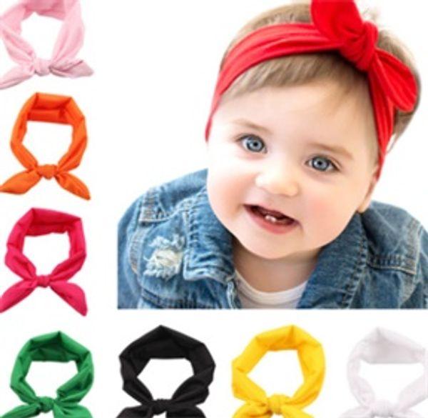 New Baby Fashion Wool Crochet Headband Knit Hairband With Button Decor Winter Newborn Infant Ear Warmer Head Headwrap