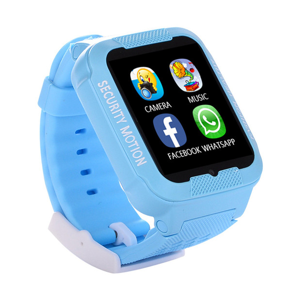 2018 new Kids Real GPS tracker Smart Watch Waterproof Positioning Safe Smartwatch with Camera SIM Call Location Device Tracker K3