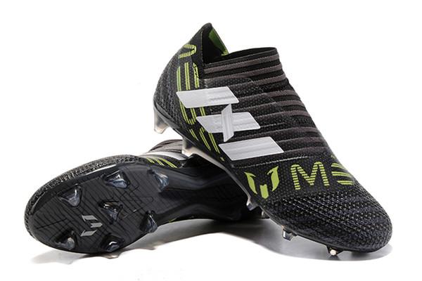 02575f536 New Original Soccer Cleats Nemeziz 17+ 360 Agility FG Mens Soccer Shoes  Cheap Leather Football