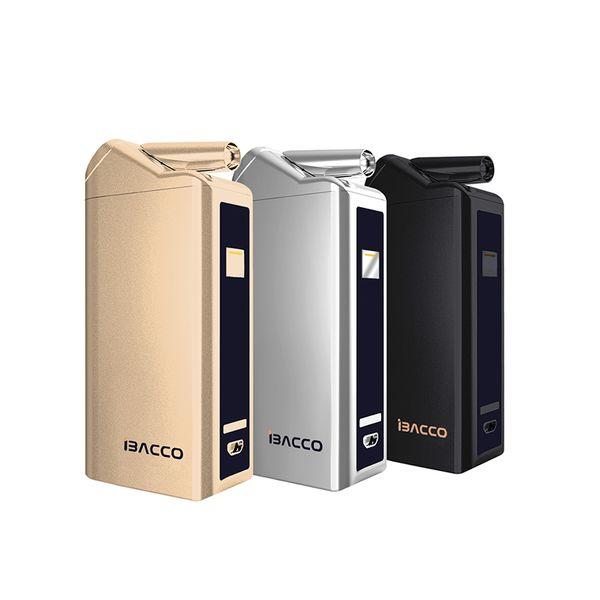 Nuevo producto iBacco Kit Cigarrillo electrónico Vape Mod Box Vaporizador Vaper E Cig LED 5 modos de trabajo inteligentes