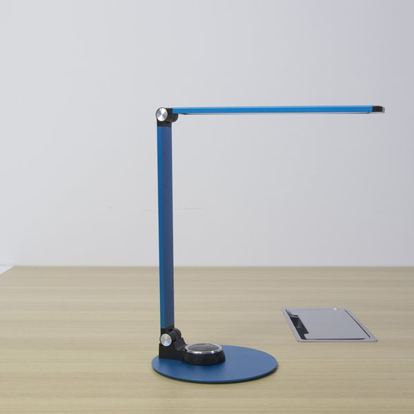2019 Dimming Table Desk Lamp For Office Hotel Bedside Led Lighting Usb Charging Port Black Modern Wireless Table Lamp For Study Desk From Yomi Zhou