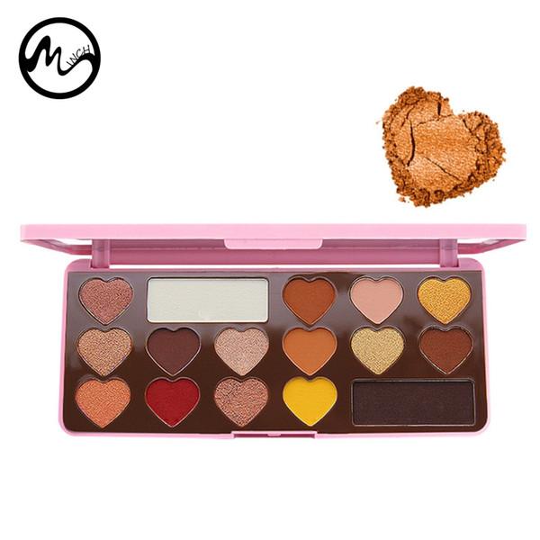 MINCH 16 Colors Eyeshadow Palette Matte Chocolate Palette Eye Shadow Naked Nude Eyeshadows Women Beauty Makeup Kit