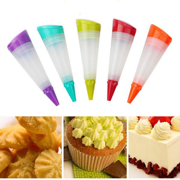 Silicone Dessert Decorators Cake Cupcake Decorative Pen Icing Piping Suit Cake Decorating Tools