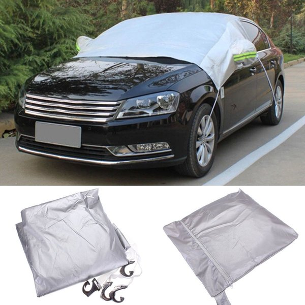 best selling 238x169cm Car Windscreen Cover Heat Sun Shade Anti Snow Frost Ice Shield Dust Protector Universal
