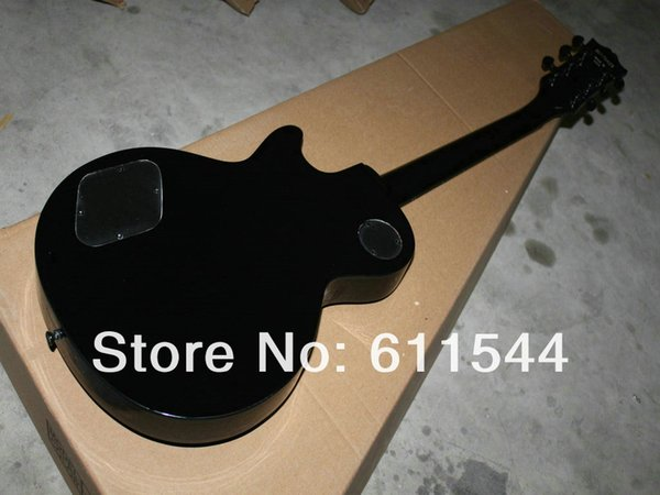 Black Custom Electric Guitar Mahogany Best Musical instruments Newest Free Shipping