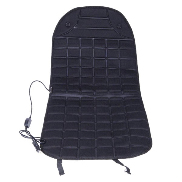 Warm Car Seat Covers Cold Days Heated Cushion Seat Cover Auto Car 12V Electirc Seat Heater Heating Pad Black