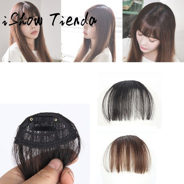 Pretty Girls Clip On Clip In Front Hair Bang Fringe Hair Extension Piece Sottile