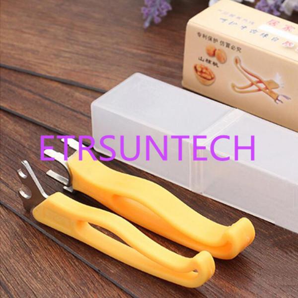 Nuss-Cracker-Multifunktions Pekannuss-Cracker-Plastik-Edelstahl-Walnuss-Enthülser-kleine Werkzeug-Ausgangsküche-Werkzeug QW7699