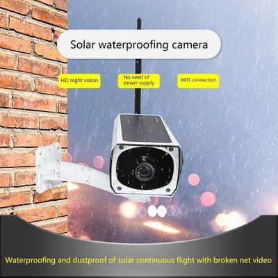 Caméra de sécurité extérieure imperméable de puissance de caméra solaire de la sécurité 1080P avec la vidéo de caméra de vidéosurveillance de surveillance de vision nocturne