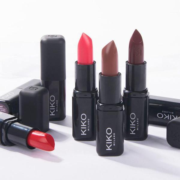 KIKO Smart Fusion Lipstick Matte Rouge A levres 3g 10 colores 48pcs envío gratis