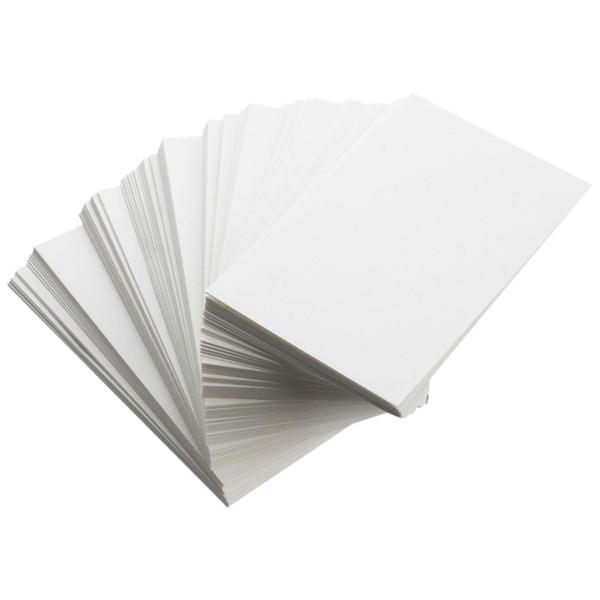Großhandel Neue Weiße Leere Visitenkarten 129gsm 90 X 50mm Drucken Sie Ihr Eigenes Dty Handwerk Von Cczone 24 31 Auf De Dhgate Com Dhgate