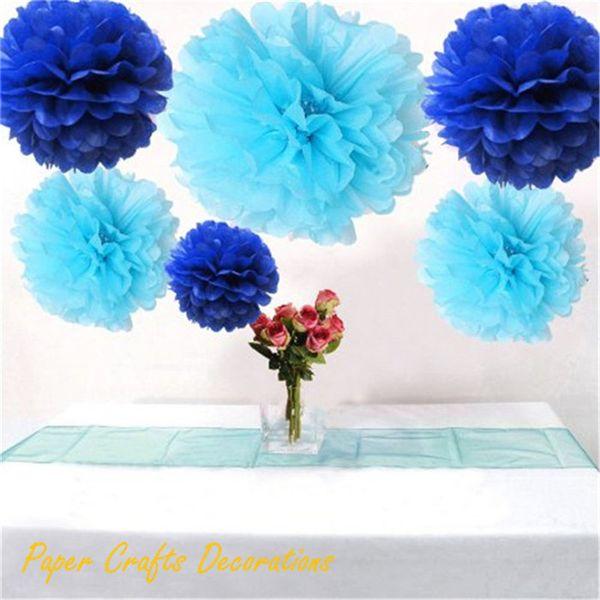 34 Colors 16inch (40cm) Hanging Wedding Round Tissue Paper Pom Poms Flower Balls Garlands Baby Shower Birthday Party Decorations