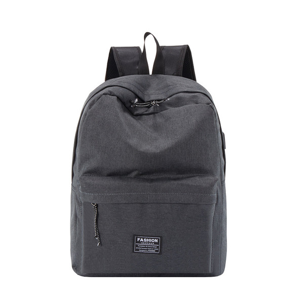 Latest fashions fashion men and women general backpack leisure business travel computer student mountaineering waterproof multifunctional