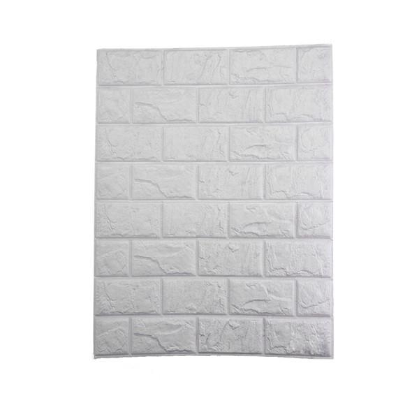 diy decor 30 x 60cm 3D PE Foam Stickers Waterproof Brick Wallpaper Posters Home Improvement DIY Wall Decor