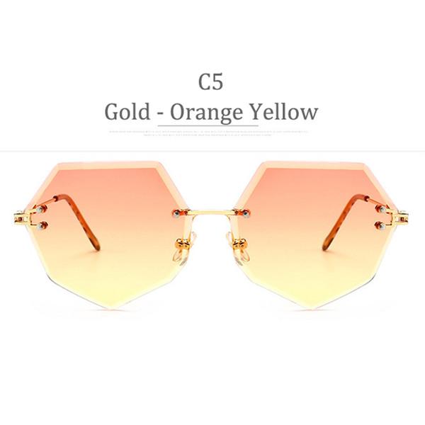 Obiettivo giallo arancione arancione C5 Oro