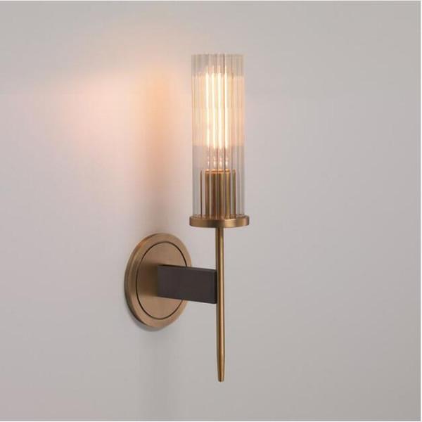 SVITZ vintage E14 led glass wall light fixture for hallway Wall sconce for bedroom balcony Bedside Mirror wall fixtures Arandela