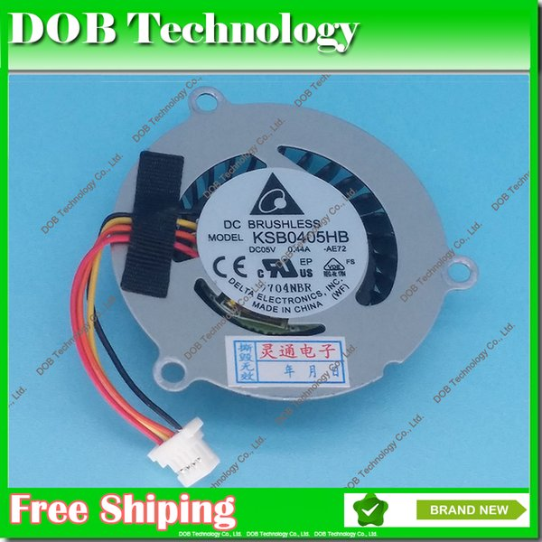 New laptop CPU cooling fan for asus eee pc 1015T 1015B 1015p 1015pn 1015 notebook fan KSB0405HB (AMD CPU)