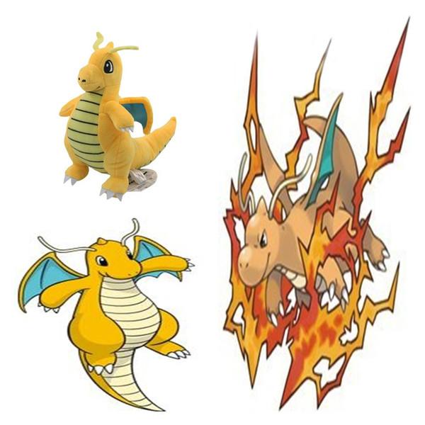Muñeca de felpa de alta calidad de Pikachu Dragonite peluche animales de juguete para bebé mejores regalos 9