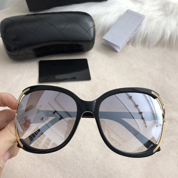 b2f0aac953eb4 Chanel Sunglasses custom Óculos de sol de luxo dos homens novos e das  mulheres designer oval