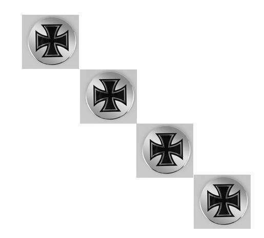 High Quality 56.5mm Cross Medal Car Styling Aluminum alloy Center Wheel Cover Labeling Emblem Car Sticker Badge
