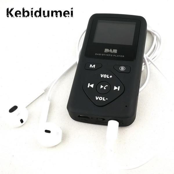 Kebidumei Digital DAB Receptor de Radio Del Coche Reproductor de MP3 Bluetooth Auriculares Estación FM Manos Libres Ranura para Tarjeta TF para Celular al Por Mayor