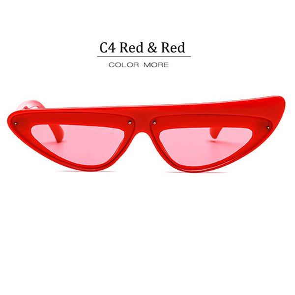 C4 Cadre Rouge Lentille Rouge