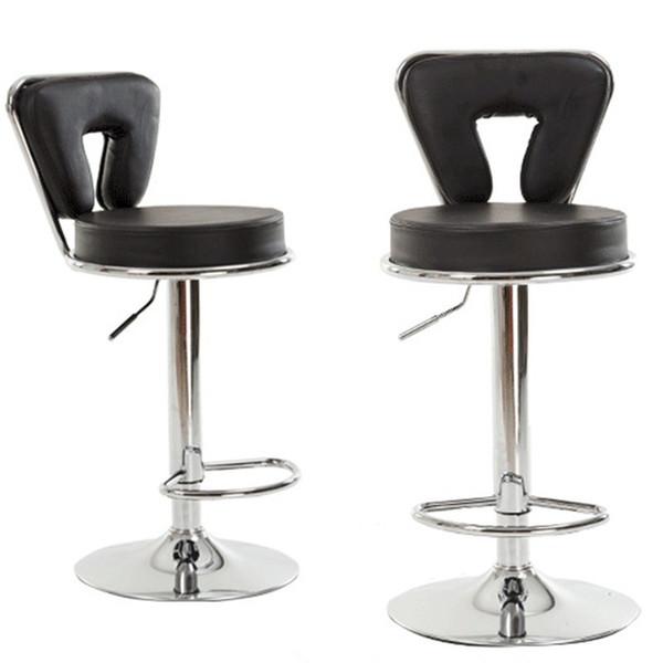 New Bar Chair Lift Fashion Comfortable Rotate Stool Household Leisure Time Jewel Chairs Adjustable Metal Chassis High Grade 105sk3 Ww