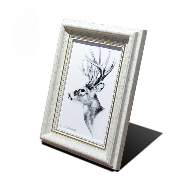 DONGLIN Newest Photo studio white photo frame hanging wall combination wedding set platform certificate picture frame